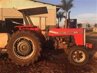 Trator Massey Ferguson 290 4x4 ano 86