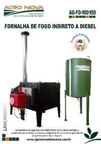 FORNALHA DE FOGO INDIRETO DIESEL