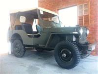JEEP WILLYS 4X4 1951