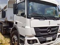 Caminh�o Mercedes Benz (MB) ATEGO 2626/36 6X2 ano 12