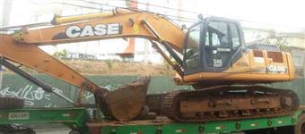 CASE CX220B 2012 - EQUIPAMENTO DE ÚNICO DONO, 9.500HS TRABALHADAS, MOTOR E HIDRÁULICO FEITOS,