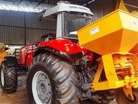 Trator Massey Ferguson MF 7140 4x4 ano 12