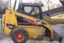 CATERPILLAR 216B2 2010 - EQUIPAMENTO COM APENAS 3.075HS, MOTOR CAT C2.2 DE 51HP, CAPACIDADE 618KG