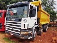 Caminhão Scania P 420 ano 07