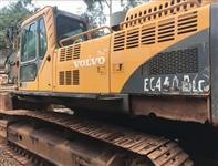 ESCAVADEIRA VOLVO EC460 B LC ANO 2008, DE ÚNICO DONO, OPERACIONAL, TRABALHANDO NORMALMENTE!!!! PESO
