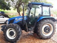 Trator New Holland TL 85 E 4x4 ano 14