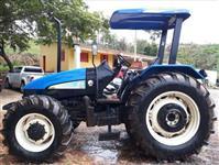 Trator New Holland TL 85 E 4x4 ano 12