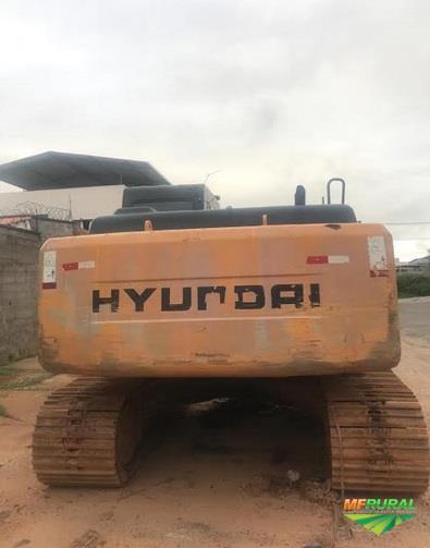ESCAVADEIRA HYUNDAI R210 LC ANO 2010, DE ÚNICO DONO, NF DE ORIGEM, 8092 HORAS TRABALHADAS