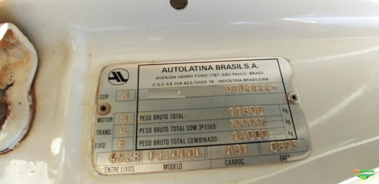 Caminhão Ford F.12000 ano 95