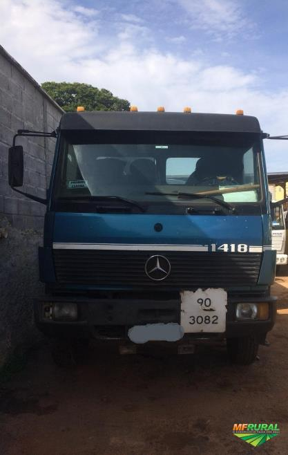 Caminhão Mercedes Benz (MB) 1418 ano 92