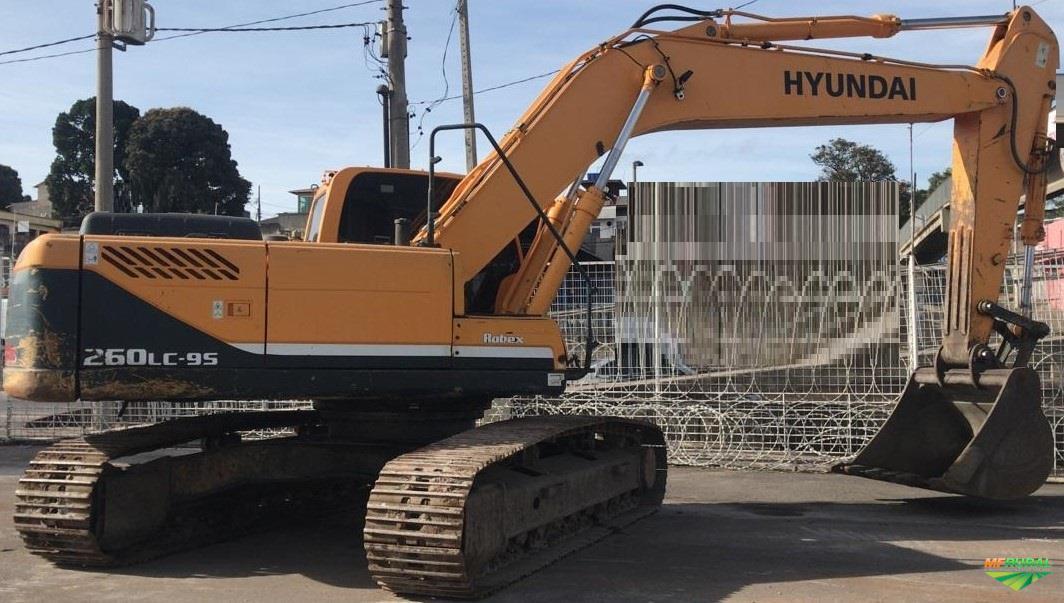 ESCAVADEIRA HYUNDAI R260LC-9S - 2012