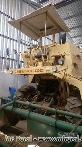 COLHEITADEIRA NEW HOLAND 4040 + CEIFLEX