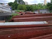 Vendo 354 toneladas de tubos