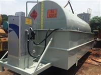 Tanque, Reservatório metálico para combustíveis