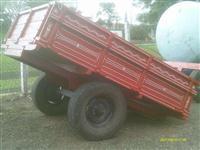 Carreta agricola de 2 rodas 2500kg