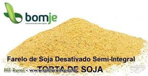 Farelo de Soja Desativado Semi-Integral (Torta de Soja)