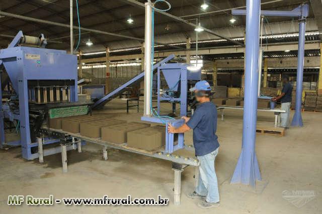 F brica de piso e blocos de concreto em itagua venda de for Fabrica de pisos