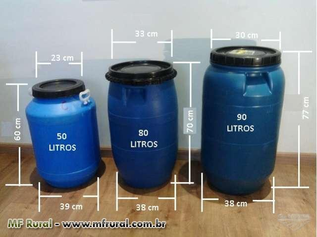 Tambor bombonas tonel barril de pl stico diversos diversos for Tambores para agua