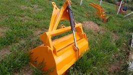 Pá Agrícola Hidráulica 1700 mm, (Grande) com pistão,  para plaina dianteira.