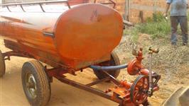 Carreta Tanque Acton, 3.400 lts, com Bomba, 4 rodas, com mangueiras e registros