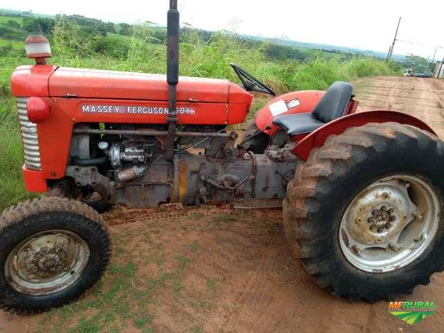 Trator Massey Ferguson 50 X 4x2 ano 00