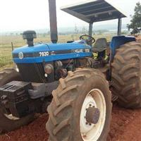 Trator Ford/New Holland 7630 4x4 ano 345