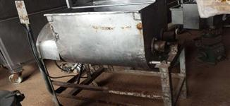 Misturador de massa 2 eixos com 6 pás inox
