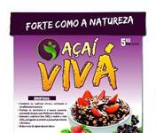 Açaí VIVÁ em Caixas de 5 e 10 litros e potes de 250 ml