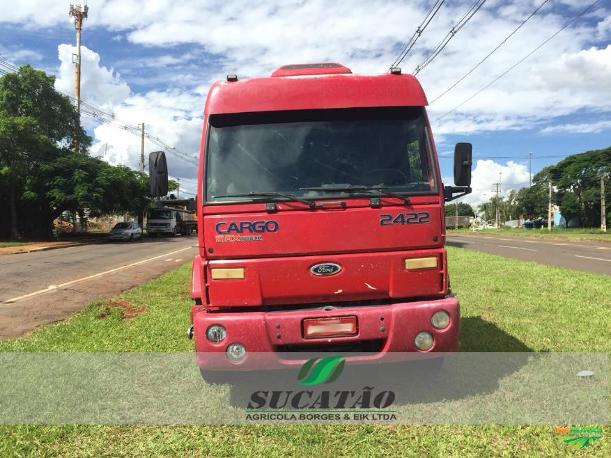 Caminhão Ford C 2422e 6x2 ano 04