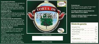 Torta de Neem - Original Importada da India a verdadeira feita de pura sementes ...
