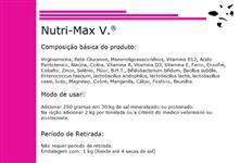 """Nutri-Max V. """"Núcleo Mineral Alta Concentração"""""""