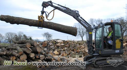 Garra Florestal Escavadeira