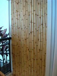 Revestimento de parede com bamboo tratado - m²