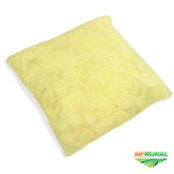 Caixa com 10 Travesseiros Absorventes Linha Amarela 45 X 45 Cm Spilltech Qualidade Superior