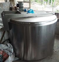Tanque de resfriamento de leite Weizur de 1000 litros