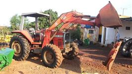 Trator Massey Ferguson 620 4x4 ano 05