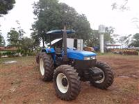 Trator New Holland 7630 4x4 ano 07