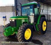 Trator John Deere 6300 4x4 ano 02