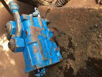 comando hidraulico trator ford 7630