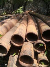 Tubos de Plástico, 160 mm com 8 metros e parede de 3mm espessura.