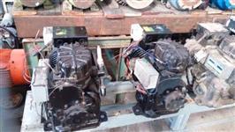 EXAUSTORES, COMPRESSORES e BOMBAS de ÁGUA (Exaustor motor 4 cv 1750 rpm trifásico p/ diversos fins).