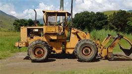Trator Carregadeiras Pá Carregadeira 930r Com Garfo E Capota Florestal 4x4 ano 87