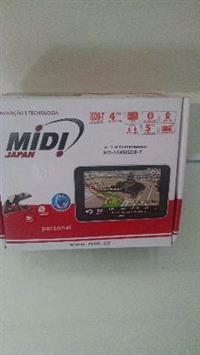 GPS MIDI COM TV DIGITAL DE 5 POLEGADAS