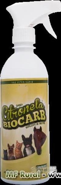 Spray repelente Citronela 500 ml-Caixa com 24 frascos com pulverizador de 500 ml