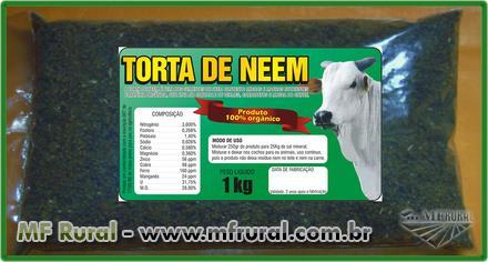 TORTA DE NEEM  ALTA CONCENTRAÇÃO