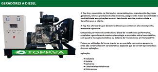 GERADOR 35KVA WEG MOTOR FPT (IVECO)