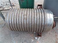 Tanque de inox 260 litros serpentinado