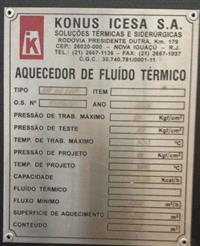 CALDEIRA PARA FLUIDO TÉRMICO