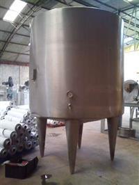Tanque em Aço Inox 5 m³ com aquecimento