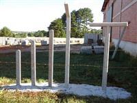 Palanques de concreto para cerca e meio-fios!
